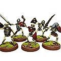 Guerriers squelettes et momie pour sobh!