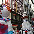 Bayonne, les fêtes 2016, défilé