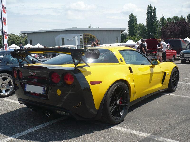 CHEVROLET Corvette C6 Z06 coupé 2006 Illzach (2)