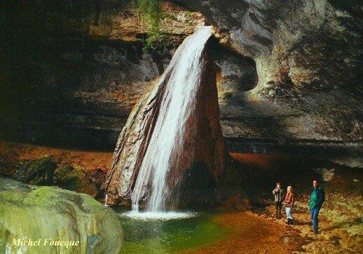 1871) cascade du Bugey (Ain)