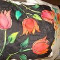 ATELIER PEINTURE ASPHODELE des tulipes
