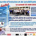 Bussy samedi 15 juin 2019 -> journée d'inclusion et de sensibilisation à l'autisme