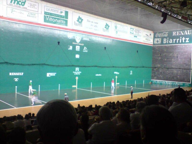Finale du Gan d'Or 2009 au Jaï Alaï de Biarritz