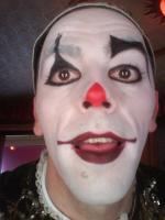 clown balnc visage 3