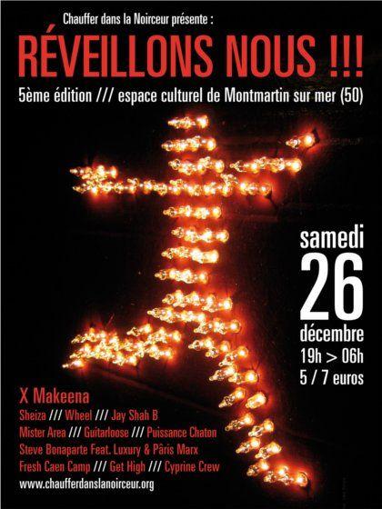 soirée-concerts Réveillons-nous !!! - Montmartin sur mer - samedi 26 décembre 2009