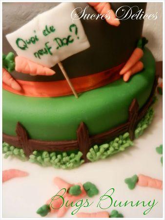 gâteau bugs bunny 3