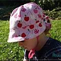 Chapeau de fille