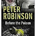 Before the poison, de peter robinson
