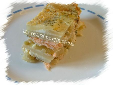 Millefeuille saumon 9