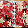 Art journal - défi