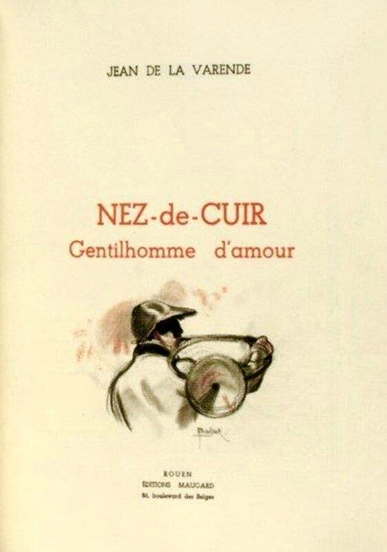 Jean de la Varende, _Nez-de-Cuir