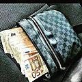 Sac magique qui produit de l'argent