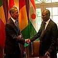 Rencontre - Barack OBAMA - Alpha CONDE