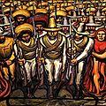 MURALISME_Les soldats de Zapata (fresque)_Siqueiros