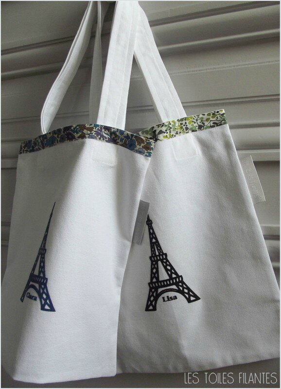 Tote-bag Lisa et Clara6