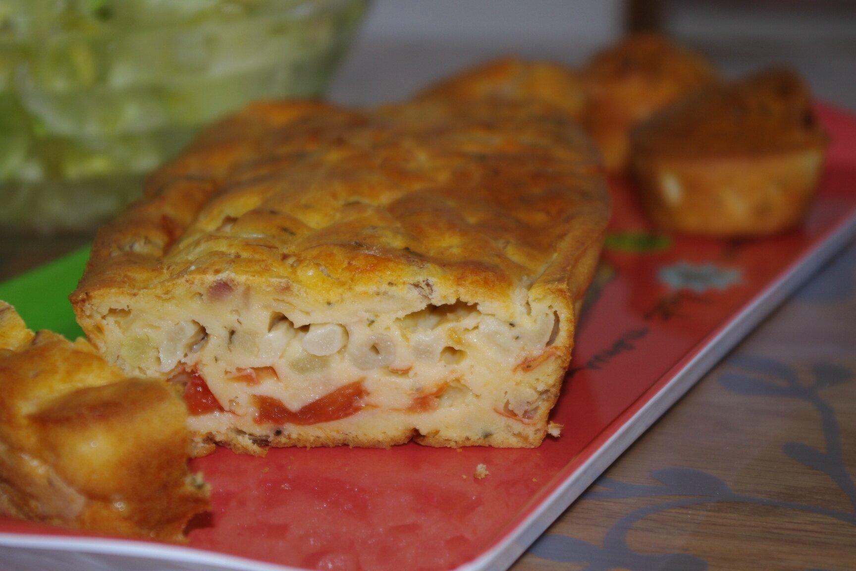 Cake Au Thon Tomates Revenues Aux Aperges Les Bonnes Recettes