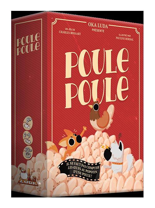 Boutique jeux de société - Pontivy - morbihan - ludis factory - Poule poule