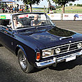 Ford taunus p7a 20m rs 2300 s cabriolet (deutsch ?) 1967-1968