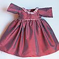 Et voici notre première réalisation : la robe de