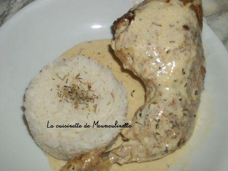 Cuisses de poulet à la crème copy