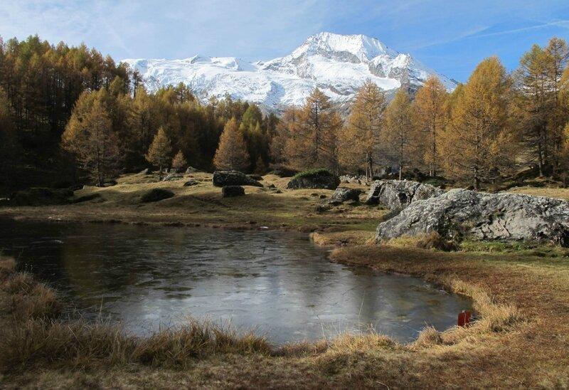 1- Arrivée au Monal - Mont Pourri