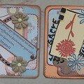 ATC amitié Original 28 et 29