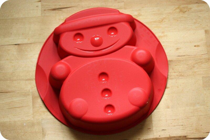 moule bonhomme de neige tupperware blog chez requia cuisine et confidences
