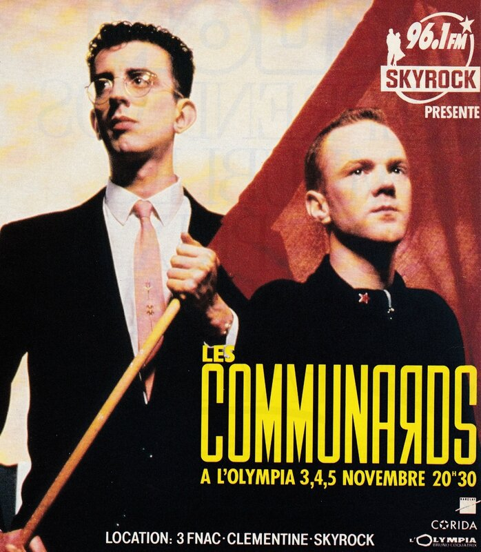 The Communards, L'Olympia, november 1986 (advert)