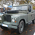 Land rover 109 serie iii pick-up