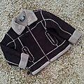 *manteau faux daim, 4 ans