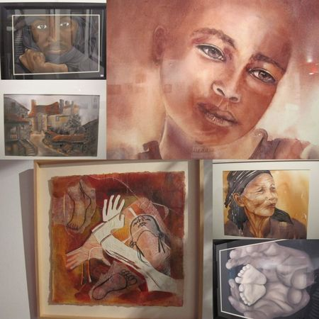 aquarelles expo roanne2011
