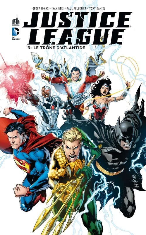 justice league 3 le trône d'atlantide