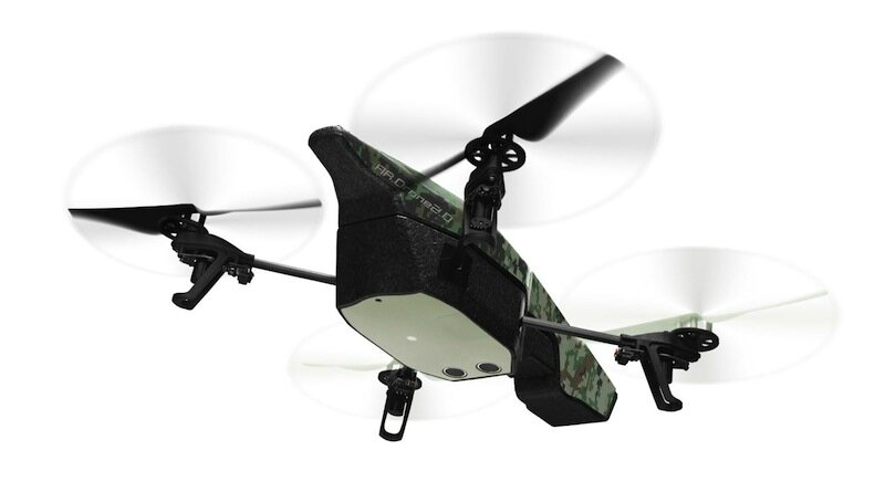 parrot drone jungle 2