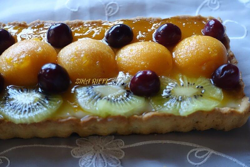 tarte cerise kiwi abricot3