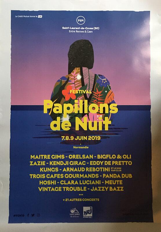 Papillons de nuit_festival_P2N_poster_affiche_jeu_concours_avranches infos_2019