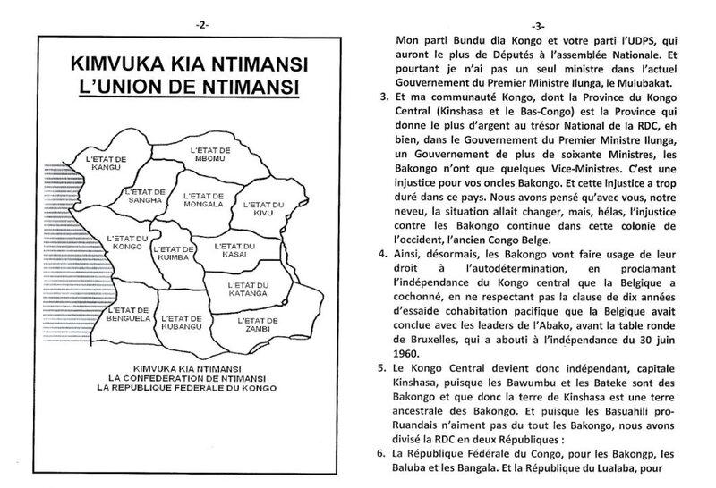 MON DEUXIEME MESSAGE AU PRESIDENT TSHILOMBO FELIX b
