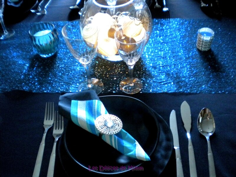 Ma table Blue night 7