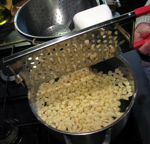 La cuisson, épilogue