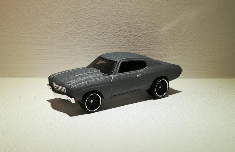 Chevrolet Chevelle SS de 1970 (Hotwheels) (2)