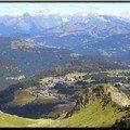 Praz de Lys vu depuis le Val Fleury