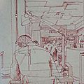 Quelques dessins faits lors des rdv des usk cherbourg en 2018