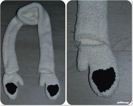 écharpe panda