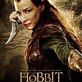The Hobbit Desolation of Smaug Tauriel poster
