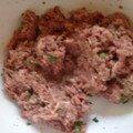 Boulettes de viande à la mozzarella