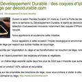 Semaine du développement durable : à l'honneur, initiative de decodurable.com et ses coques d'iphone & d'ipad en liège