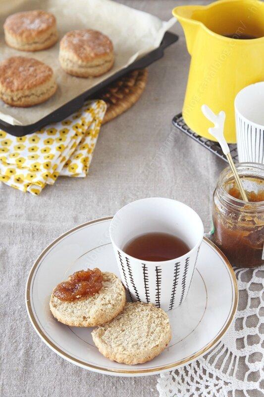biscuits scones farine semi complete 0003