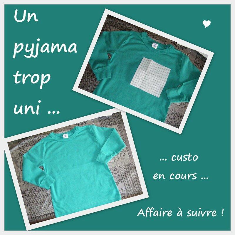 pyjama uni