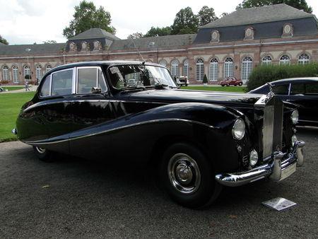 ROLLS ROYCE Silver Cloud I Hooper Empress Saloon 1956 Classic Gala de Schwetzingen 2010 3