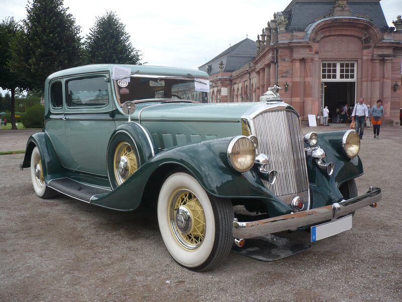 PIERCE ARROW 836 Club Brougham 2door Sedan 1933 Schwetzingen (1)
