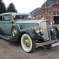 Pierce arrow 836 club brougham 2door sedan 1933